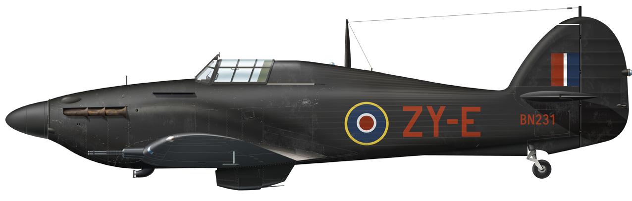 Hawker Hurricane IIC italeri 1/48 Hawker-Hurricane-MKIIC-ZY-E